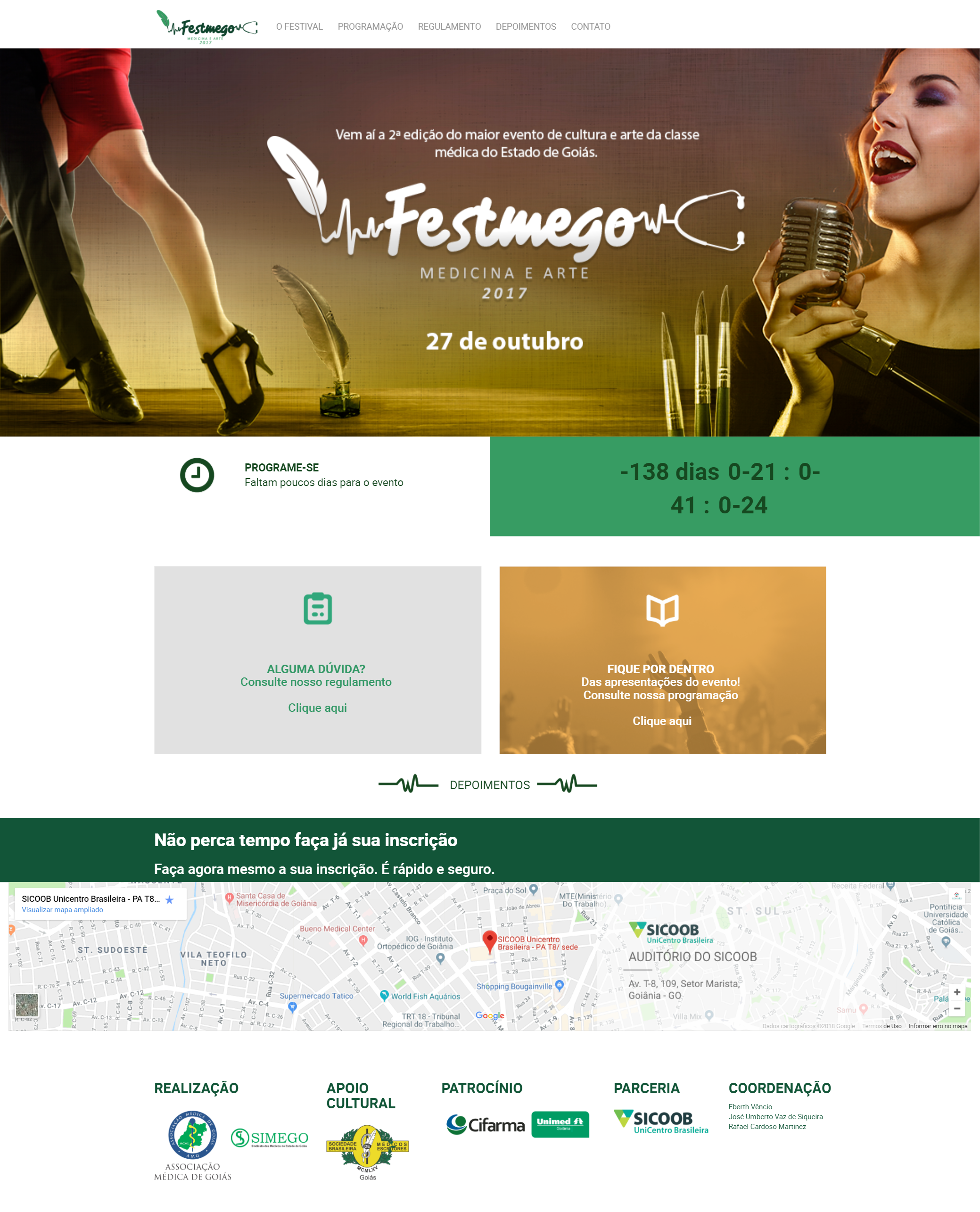 Festmego WebSite